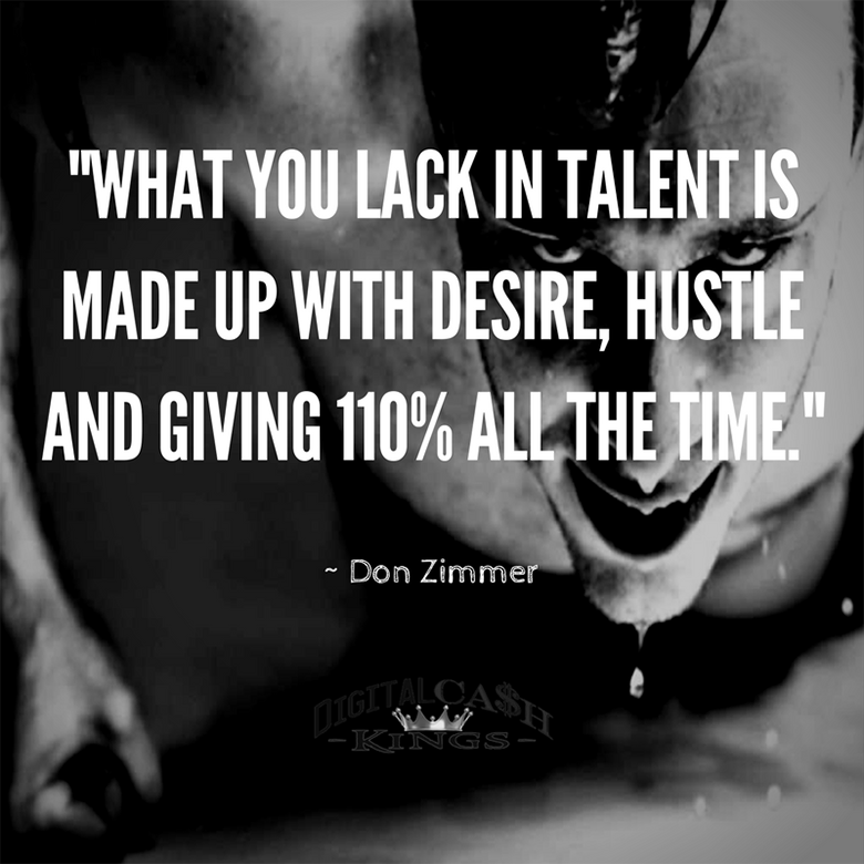 Motivation by Don Zimmer