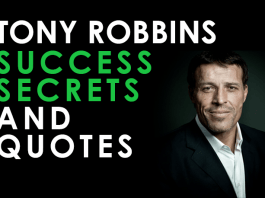 Tony Robbins Success Secrets and Quotes