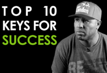 Top 10 Keys For Success by Eric Thomas
