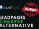Leadpages Cheaper Alternative