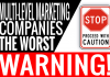 Worst Multi Level Marketing Companies