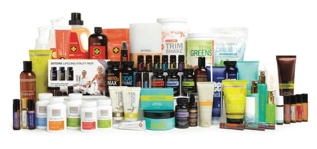 doTERRA Product Catalog Image Review