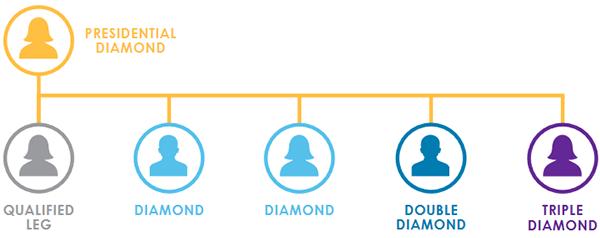 It Works Presidential Diamond Chart