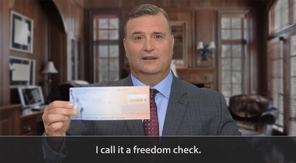 Matt Badiali Freedom Checks Scam
