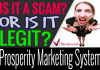 Prosperity Marketing System Review Scam and Compensation Plan