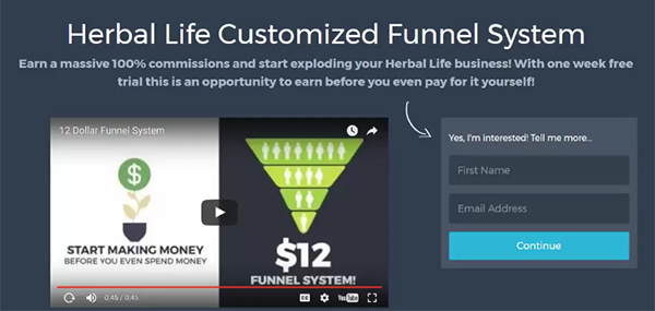 Prosperity Marketing System Review of Customized Capture Pages