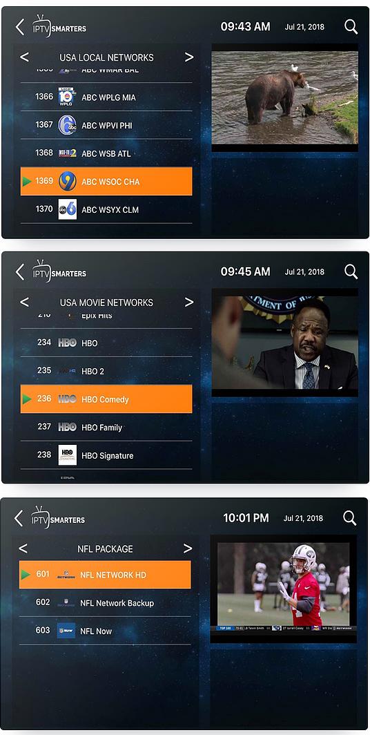 AXE Media TV Application Screenshot Review