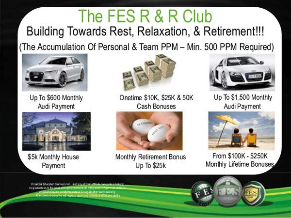 Financial Education Services FES Protection Plan R and R Bonuses Review