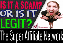 The Super Affiliate Network Review Scam Compensation Plan