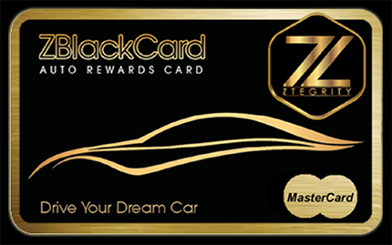 The ZBlackCard Debit Card What It Looks Like