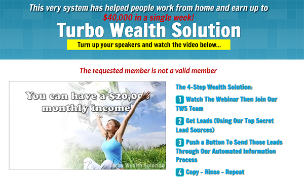 Turbo Wealth Solution Review of the Company