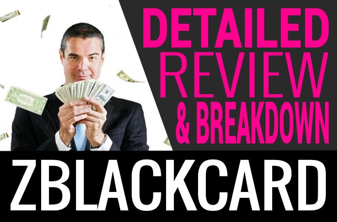 ZBlackCard Review Compensation Plan Scam
