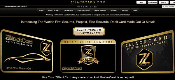 ZBlackCard Reviews
