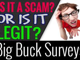 Big Buck Surveys Reviews Scam or Legit How It Works Make Money