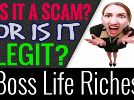 Boss Life Riches Review Scam Compensation Plan