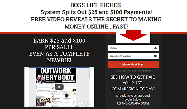 Boss Life Riches Reviews