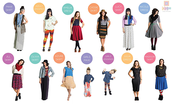 LuLaRoe Products and Catalog