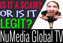 NuMedia Global TV Review Scam Compensation Plan