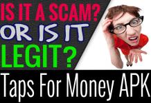 Taps For Money App Game Review Hack Legit and Safe APK
