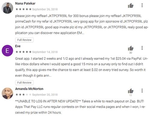 Zap Surveys Testimonials and Reviews