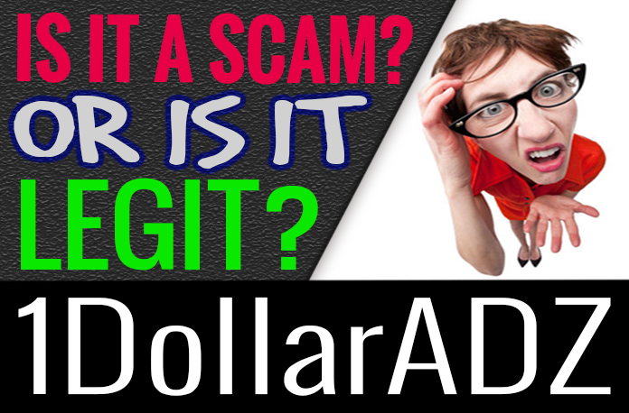1 Dollar Adz Review Scam How You Earn