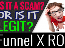 Funnel X ROI Review Scam How It Works and Make Money