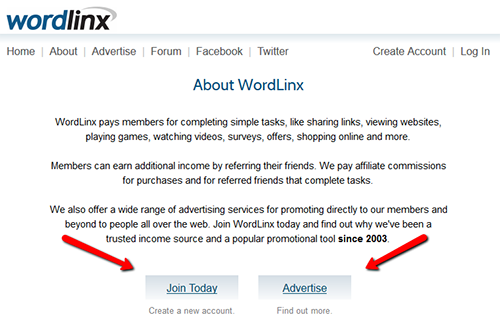 How To Sign Up For WordLinx