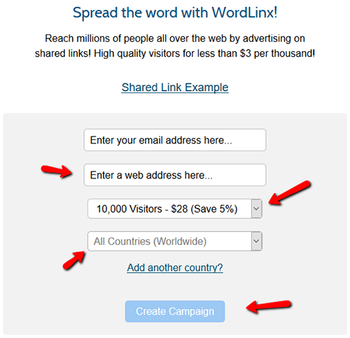 WordLinx Advertising Platform