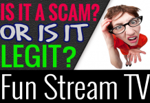 Fun Stream TV Review Scam Compensation Plan