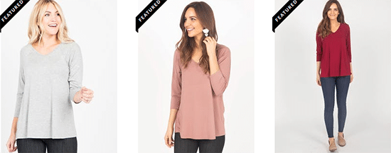 Agnes and Dora Tops and Cardigans
