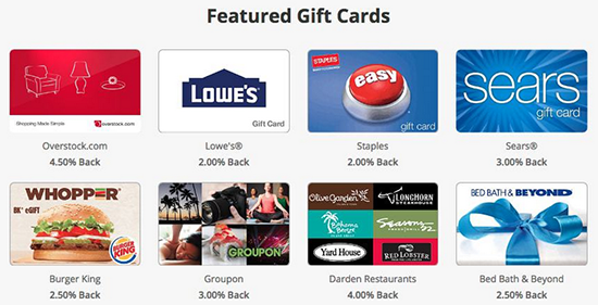 SwagBucks Gift Cards Cash Out
