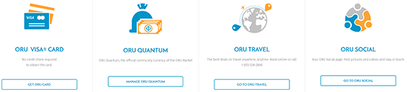 ORU MarketPlace Products Overview