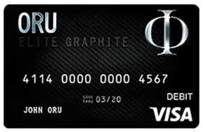 ORU MarketPlace Visa Black Card Benefits