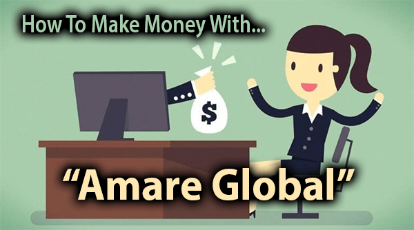 Amare Global Compensation Plan Breakdown