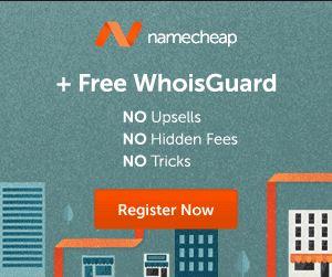 NameCheap For Domain Names