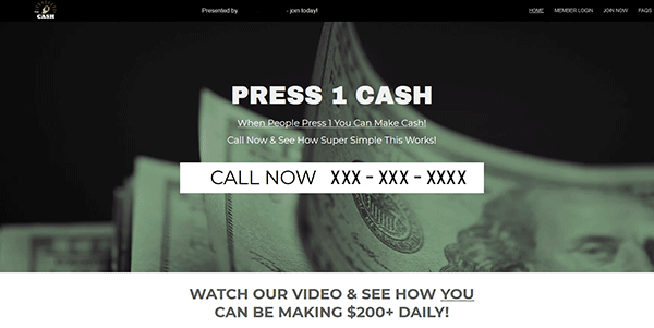 Press 1 Cash Reviews What Is It How Does It Work