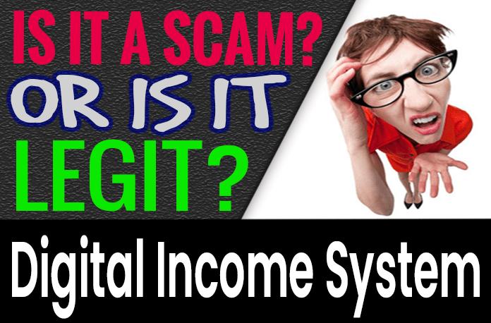 Digital Income System Review Scam Compensation Plan