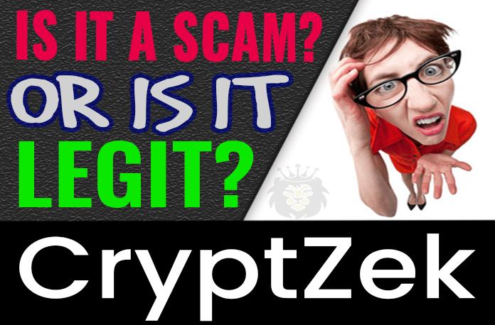 CryptZek Review Scam Compensation Plan
