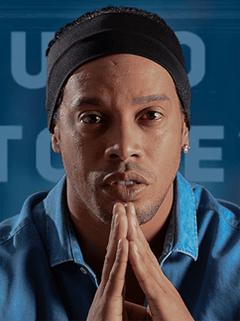 Ronaldinho the Brazilian Soccer Player Footballer