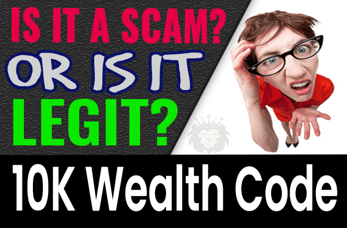 10K Wealth Code Review Scam Compensation Plan