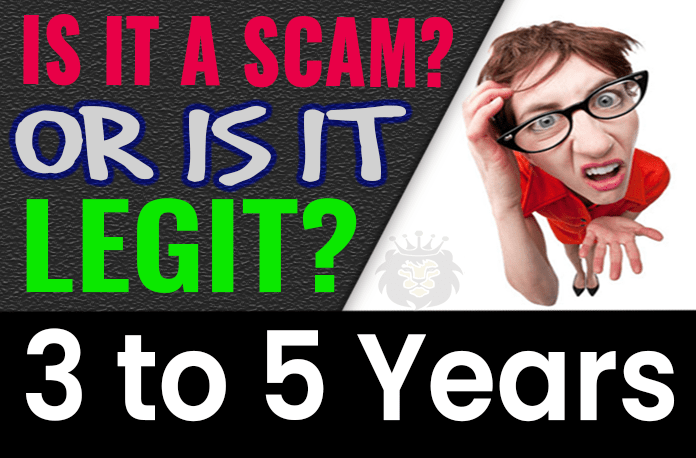 3 to 5 Years Review Scam Compensation Plan