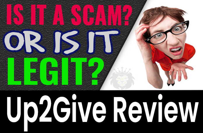 Up2Give Review Scam Compensation Plan