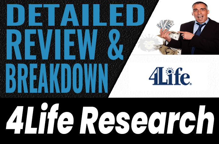 4Life Research Review Scam Compensation Plan