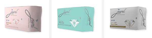 Jewel Sanitary Napkins Products