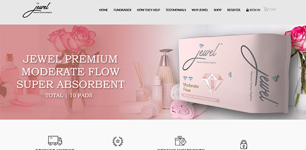 What Is Jewel Sanitary Napkins