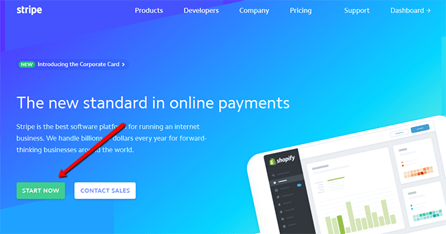 Step 1 Create Your Stripe Account