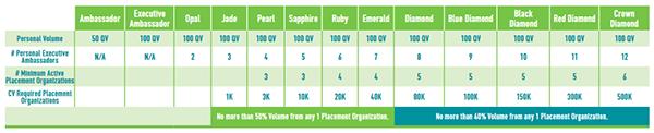Team Building Compensation Plan Chart