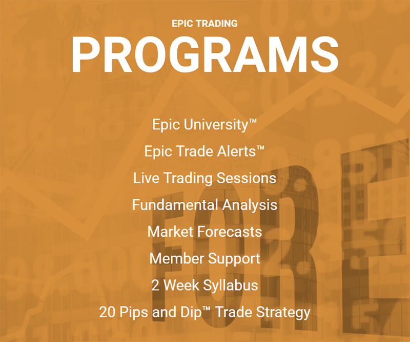 Epic Trading Int Products